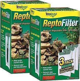 Tetra ReptoFilter Filter Cartridges, Medium, 6-Pack