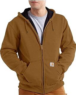 Men's Big & Tall Rutland Thermal Lined Zip Front Sweatshirt Hoodie
