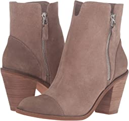 Dark Taupe Cow Suede Leather