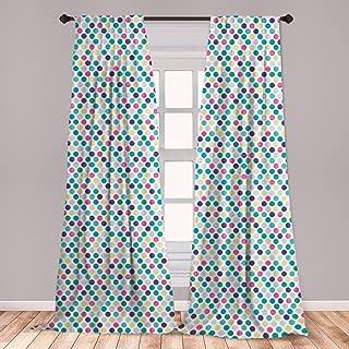 Best polka dot curtain panels Reviews