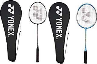 Yonex GR 303 Aluminum Blend Badminton Racquet Combo with Full Cover, Pack of 2