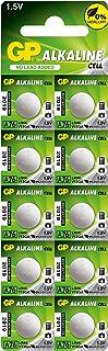 GP A76F-2C10 alkaline batterij AG13/LR44 (1,5 V, 10 stuks) blister