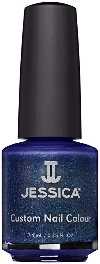 イベントスコットランド人腫瘍Jessica Nail Lacquer - Midnight Moonlight - 15ml / 0.5oz