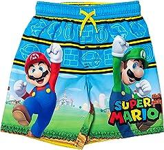 LIJUNQI Super Mario Zwembroek voor kinderen, zomer, 3D-print, sneldrogend, Hawaii surf, zwembroek, sportbroek