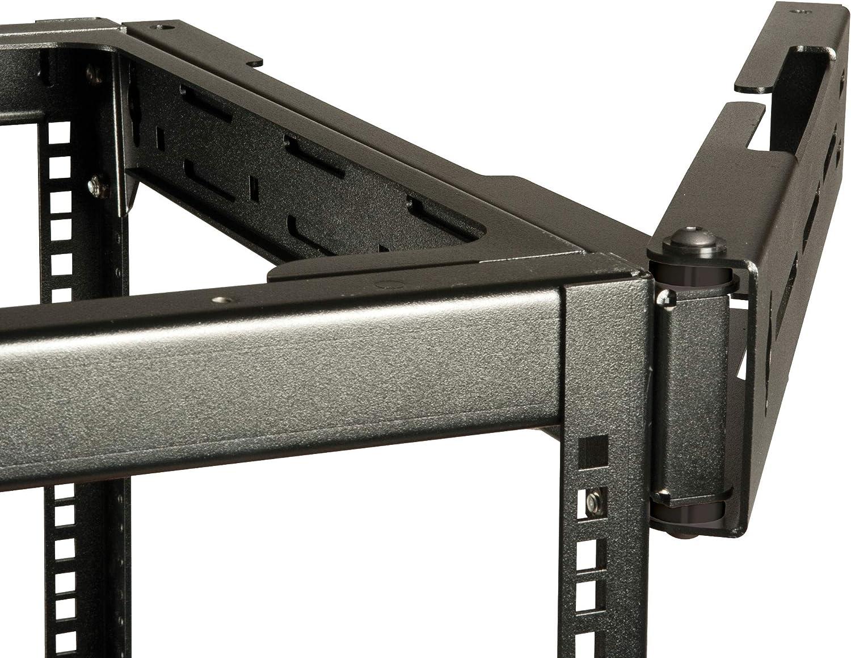 ECHOGEAR Rack Compatible Swing-Out Wall Mount - Compatible with 10U, 15U, & 20U Open Frame Racks