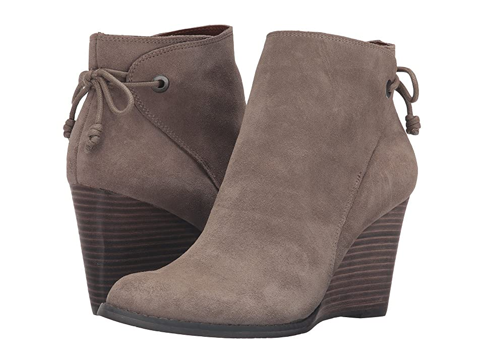 Lucky Brand Yamina (Brindle Oil Suede) Women