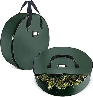 2-Pack Christmas Wreath Storage Bag 36