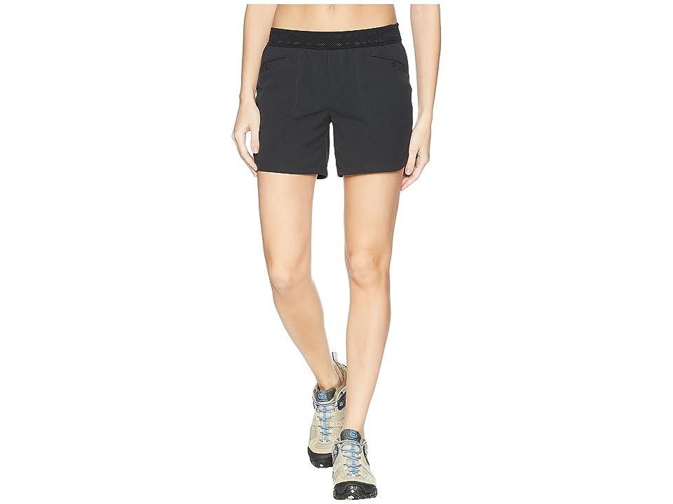 Mountain Hardwear Right Bank Scrambler Shorts (Stealth Grey) Women
