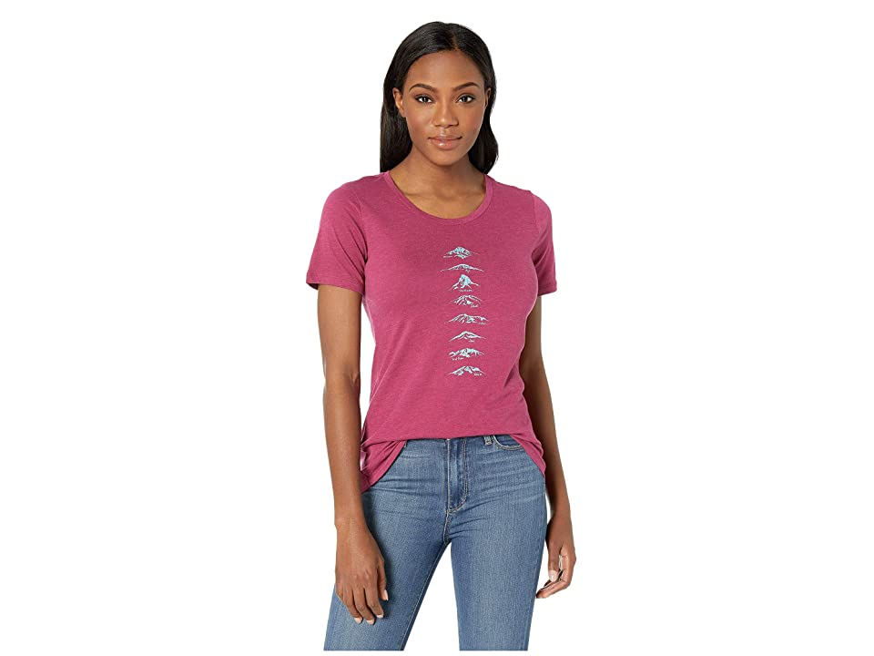 Columbia Pick Your Peaktm T-Shirt (Wine Berry Heather) Women