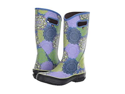 Bogs Mandala Rain Boot (Lavender Multi) Women