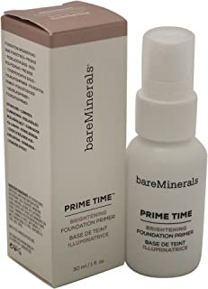 bareMinerals Prime Time Brightening Foundation Primer for Face, 1 Ounce - coolthings.us