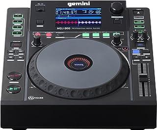 "Gemini MDJ Series MDJ-900 Professional Audio DJ Media Player with 4.3-Inch Full Color Display Screen, 8"" Jog Wheel, and Programmable Hot Cues"