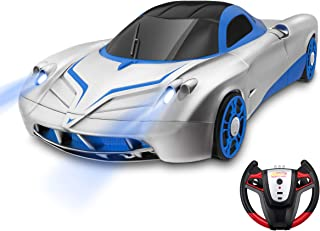 Remote Control Car, Kid Toys for Boys Girls, Dual Mode 360°Rotating Stunt Car with Remote Control, Head and Rear LED Lights, Intelligent Glowing USB Cable, Girl and Boy Gifts