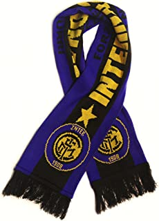 Inter Milan | Premium Soccer Fan Scarf | Ships from USA | Acrylic Knit Scarf