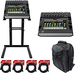 Mackie DL1608 Lightning 16-Ch Digital Live Sound Mixer+Backpack+Stand+Cables