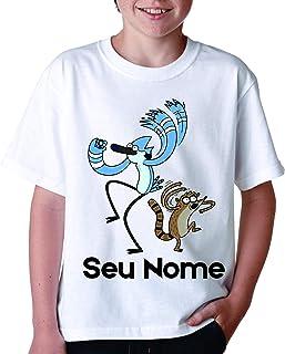 Kit 3 Camiseta Personalizada Infantil