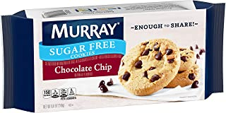 Murray Sugar Free Cookies, Chocolate Chip, 8.8 oz Tray(Pack of 12)