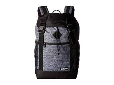 adidas Midvale II Backpack (Onix Jersey/Black) Backpack Bags