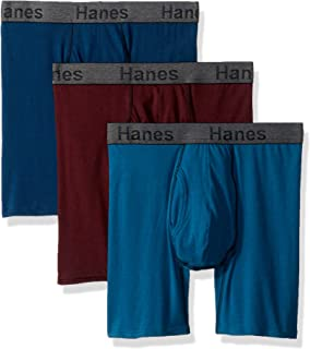 Men's 3-Pack Comfort Flex Fit Ultra Soft Stretch Boxer Brief