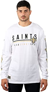 NFL Men's T-Shirt Active Basic Long Sleeve Tee Shirt