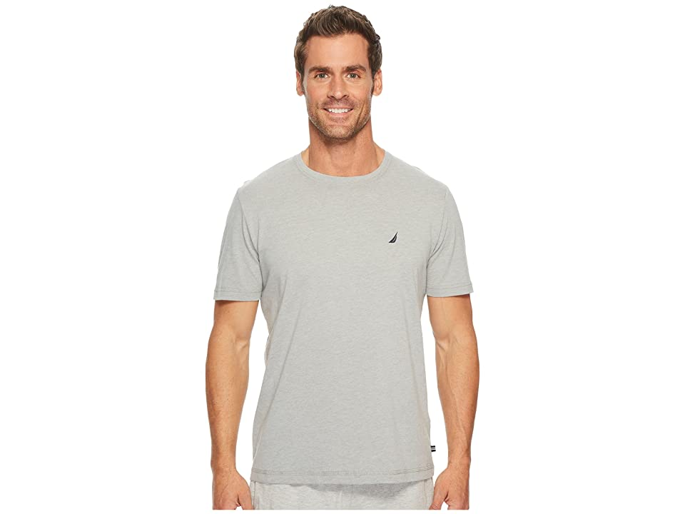 Nautica Knit Sleep T-Shirt (Grey Heather) Men