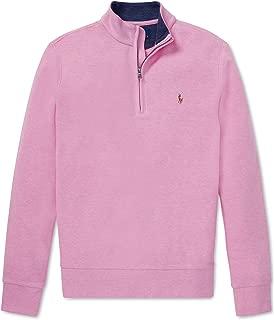 Ralph Lauren Polo Boys Half Zip Cotton Mesh Pullover