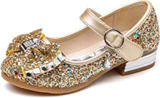 8a36d9986a1e Kikiz Little Girl s Adorable Sparkle Mary Jane Princess Party Dress Shoes