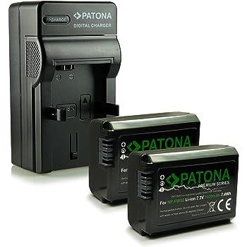 Caricatore LCD Dual per batteria Sony NP-FW50 Patona 181964 USB