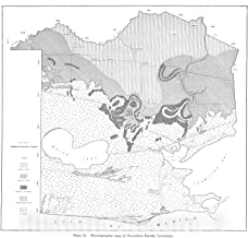 Historic Pictoric Map : Reports on The Geology of Cameron and Vermilion Parishes, 1935 Cartography Wall Art : 36in x 36in