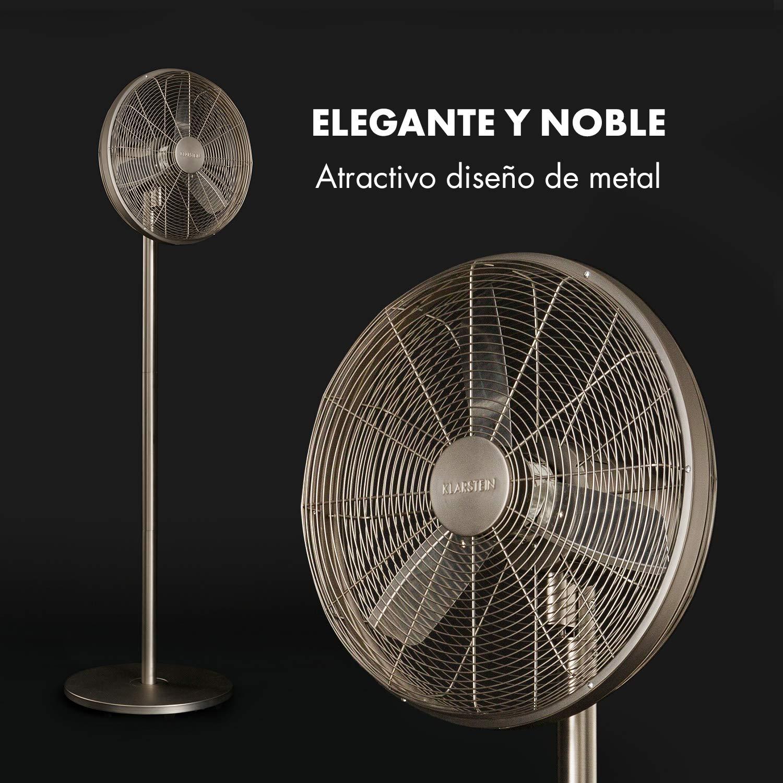 KLARSTEIN Ethos High Performance - Ventilador metálico de pie ...