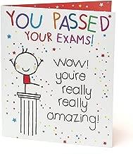 Passing Exams Card - Congratulations Card - Congratulations Gifts - Congratulations on Passing Exams, Well Done Card - Exams