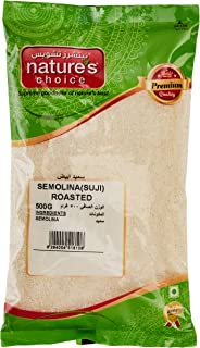 Natures Choice Semolina (Suji) Roasted, 500 gm