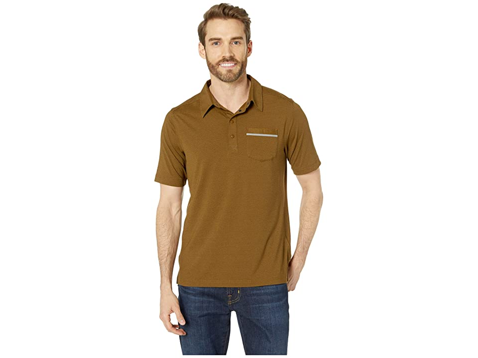 Marmot Laight Short Sleeve Polo (Aztec Gold) Men