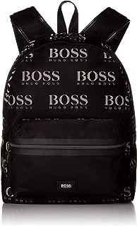 Hugo Boss Men's Iconic_Backpack 100% Polyamide Back Pack Bags