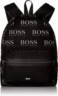 Hugo Boss Men's Iconic_Backpack 100% Polyamide Back Pack Bags