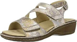 Aravon Women's Cambridge 3 Strap Flat Sandal