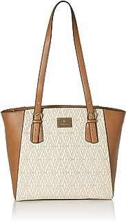 Van Heusen autumn-winter 19 Women's Tote Bag (Off White/Tan)