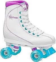 Roller Derby Roller Star Women's Roller Skates, 6, White/Purple/Blue