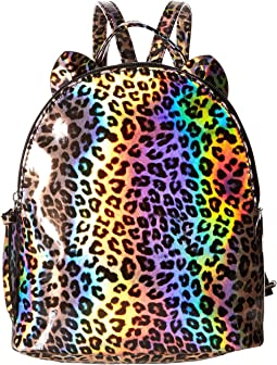 Leopard Backpack with Ears