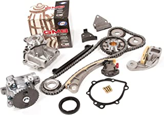 Evergreen TK8004WOP Chevrolet Suzuki J18A J20A Timing Chain Kit, Oil Pump, and GMB Water Pump (with Gears)