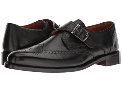 CARLOS by Carlos Santana 1960 M (Black Full Grain Calfskin Leather) Men
