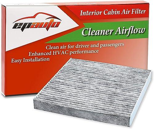EPAuto CP134 (CF10134) Premium Cabin Air Filter includes Activated Carbon