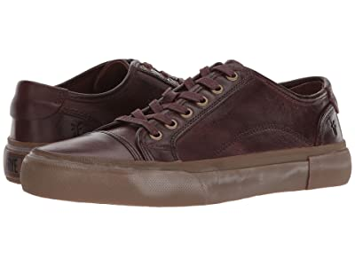 Frye Ludlow Cap Lowlace (Dark Brown Goat Pull Up) Men