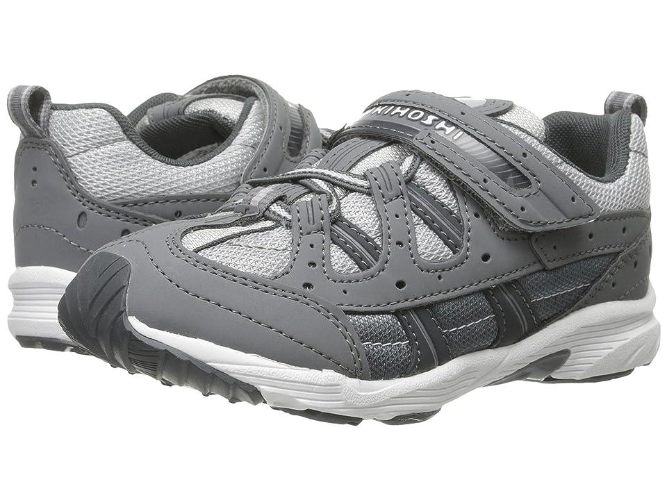 Tsukihoshi Kids Speed (Toddler/Little Kid) (Gray/Gray) Boys Shoes