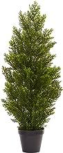 Nearly Natural 3' Mini (Indoor/Outdoor) Cedar Pine Tree, 3', Green