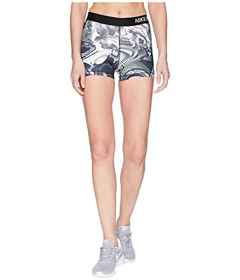 Nike Pro Coral Print Shorts 3