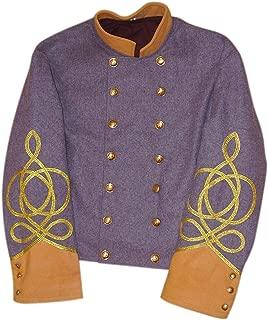 10Code US Civil War Confederate Major/Colonel Cavalry Shell Jacket