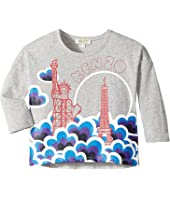 Kenzo Kids - Printed Long Sleeves Sweatshirt (Toddler/Little Kids)