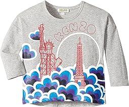 Kenzo Kids - Printed Long Sleeves Sweatshirt (Toddler/Little Kids)