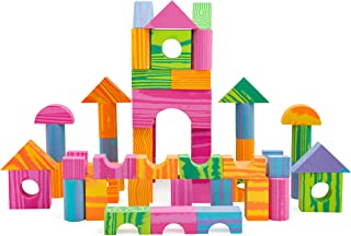 Morvat Foam Block Set- 60 Piece Soft Multi-Colored Building Blocks Educational Stacking Blocks, Foam Building Blocks for Kids - Non-Toxic & BPA Free - Great Bath Toys for Babies and Toddlers